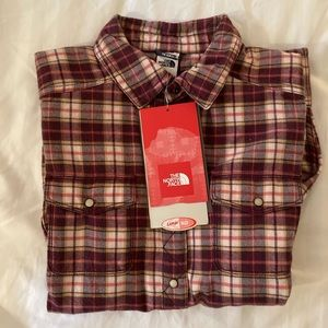 North Face Flannel Shirt